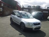 2013 SKODA YETI 2.0 ADVENTURE TDI CR 5d 109 BHP £8450.00