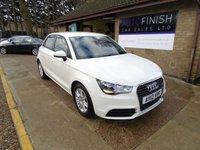 2012 AUDI A1 1.6 SPORTBACK TDI SE 5d 105 BHP £6495.00