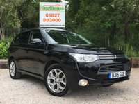 USED 2015 15 MITSUBISHI OUTLANDER 2.0 PHEV GX 4H 5dr AUTO Sat Nav, Leather, Great Spec