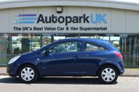 USED 2009 09 VAUXHALL CORSA 1.2 CLUB 16V 3d 80 BHP LOW DEPOSIT OR NO DEPOSIT FINANCE AVAILABLE