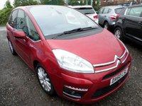 2010 CITROEN C4 PICASSO 1.6 EXCLUSIVE HDI EGS 5d AUTO 110 BHP £3795.00