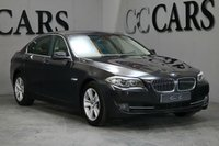 USED 2013 13 BMW 5 SERIES 2.0 520D SE 4d 181 BHP A Well Maintain Executive Saloon Presented in Sophisto Grey with a Full Cream Leather Interior. Features Include, Eclectically Adjustable Heated Leather Seats, 17 Inch Alloy Wheels, Satellite Navigation, Front & Rear Parking Sensors, CD, Radio, Bluetooth Connectivity, Aux, Dual Zone Climate Control, Air Conditioning, Cruise Control, Isofix Anchorage Points, Privacy Glass, Heated Mirrors, Leather Multifunction Steering Wheel and Stop Start Technology