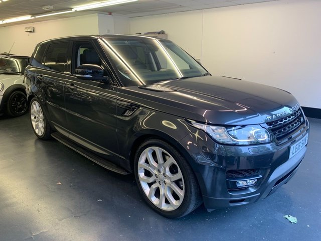 USED 2016 16 LAND ROVER RANGE ROVER SPORT 3.0 SDV6 HSE DYNAMIC 5d AUTO 306 BHP FULL MAIN DEALER SERVICE HISTORY, FULLY OPENING PANORAMIC ROOF, TOUCHSCREEN SAT NAV