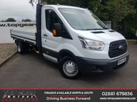 USED 2014 64 FORD TRANSIT 350 2.2 155 BHP L3 ALLOY DROPSIDE**CHOOSE FROM 85 VANS**