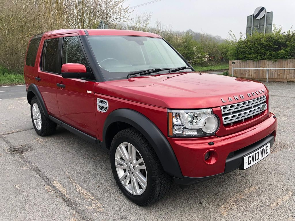 USED 2013 13 LAND ROVER DISCOVERY 3.0 SDV6 4X4 COMMERCIAL (PANEL VAN) **£260 TAX** **5 SEATS**