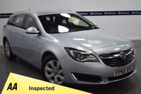 USED 2015 65 VAUXHALL INSIGNIA 1.6 TECH LINE CDTI ECOFLEX S/S 5d 135 BHP (ONE OWNER WITH FULL SERVICE HISTORY)