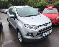 USED 2017 17 FORD ECOSPORT 1.0 ZETEC ECOBOOST 125 BHP THIS VEHICLE IS AT SITE 1 - TO VIEW CALL US ON 01903 892224