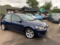 2015 VOLKSWAGEN GOLF 1.6 MATCH TDI BLUEMOTION TECHNOLOGY 5d 103 BHP £8489.00