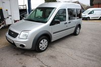 2010 FORD TOURNEO CONNECT 1.8 TREND TDCI 4d 90 BHP with WHEEL CHAIR ACCESS and 6 SEATS £7495.00