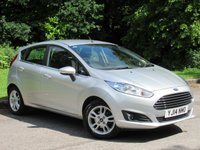 USED 2014 14 FORD FIESTA 1.2 ZETEC 5d 81 BHP LOW MILEAGE FAMILY HATCHBACK