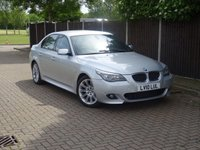 USED 2010 10 BMW 5 SERIES 2.0 520D M SPORT BUSINESS EDITION 4d 175 BHP
