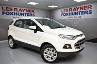 USED 2016 16 FORD ECOSPORT 1.5 ZETEC 5d AUTO 110 BHP Bluetooth, 1 Owner, Full Ford service history, Park sensors