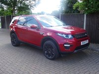 USED 2016 16 LAND ROVER DISCOVERY SPORT 2.0 TD4 SE TECH 5d 180 BHP