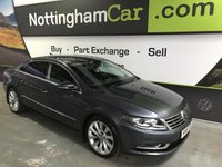 USED 2015 15 VOLKSWAGEN CC 2.0 GT TDI BLUEMOTION TECHNOLOGY DSG 4d AUTO 138 BHP