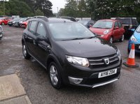 USED 2016 16 DACIA SANDERO 0.9 STEPWAY LAUREATE TCE 5d 90 BHP A Quality Condition, High Spec Dacia Sandero Stepway, Only 1 Former Keeper and a Long MOT!