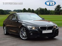 """USED 2014 14 BMW 3 SERIES 2.0 328I M SPORT 4d 242 BHP High specification 2014 BMW 328i M Sport 4dr in black with PROFESSIONAL SAT NAV, 19"""" ALLOY WHEELS, ELECTRIC SUNROOF, PARK SENSORS, CRUISE CONTROL +++. 1 owner with with services on the idrive."""