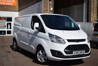 2017 FORD TRANSIT CUSTOM 2.0 290 LIMITED LR P/V 1d 129 BHP £12999.00