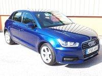 2015 AUDI A1 1.0 SPORTBACK TFSI SPORT 5d 93 BHP £10495.00
