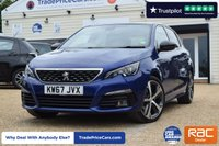 USED 2018 67 PEUGEOT 308 1.6 BLUE HDI S/S GT LINE 5d 120 BHP