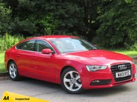 USED 2013 13 AUDI A5 1.8 SPORTBACK TFSI SE 5d 170 BHP FULL LEATHER INTERIOR, RECENT NEW CLUTCH