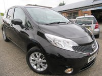 USED 2015 15 NISSAN NOTE 1.2 ACENTA PREMIUM SAFETY 5d 80 BHP Full of extras Sat Nav bluetooth all round camera Lane departure assist Great car all round with a documented service history