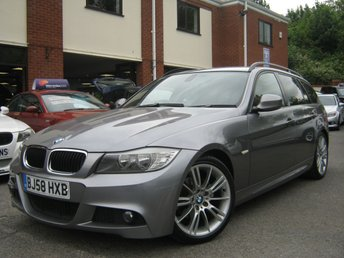 2008 BMW 3 SERIES 2.0 318I M SPORT TOURING 5d 141 BHP £5495.00