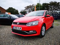 USED 2015 15 VOLKSWAGEN POLO 1.4 SE TDI BLUEMOTION 5d 74 BHP ++ FULL VW SERVICE HISTORY ++