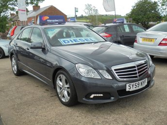 2009 MERCEDES-BENZ E CLASS 2.1 E220 CDI BLUEEFFICIENCY AVANTGARDE 4d 170 BHP * HEATED LEATHER* XENONS* EXCEELENT* £6950.00