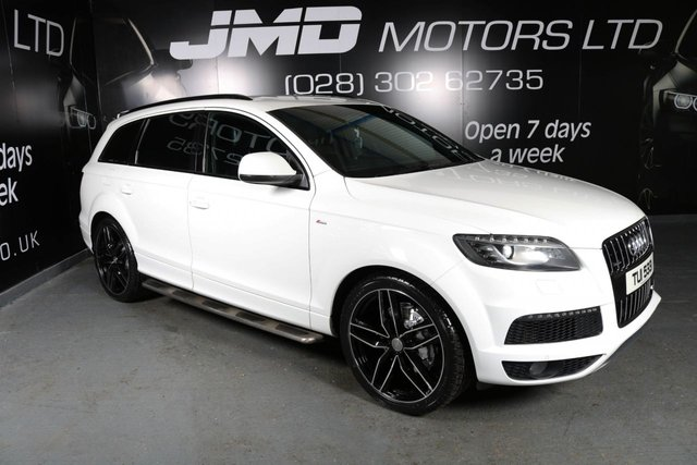 2012 AUDI Q7 3.0 TDI QUATTRO S LINE BLACK EDITION STYLE AUTO (FINANCE & WARRANTY)