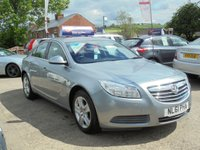 USED 2011 61 VAUXHALL INSIGNIA 1.8 EXCLUSIV 5d 138 BHP * PARKING AID* CRUISE* EXCELLENT VALUE*