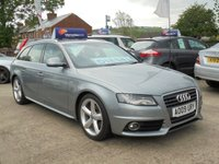 USED 2009 09 AUDI A4 2.0 AVANT TDI S LINE  5d 141 BHP * FULL LEATHER* HEATED SEATS* BLUETOOTH* EXCELLENT*