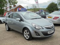 USED 2014 64 VAUXHALL CORSA 1.2 SXI AC 3d 83 BHP *1 OWNER* ALLOYS* EXCELLENT THROUGHOUT*