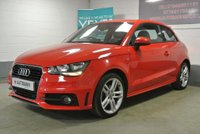 USED 2014 64 AUDI A1 1.6 TDI S line 3dr MISANO RED, BIG SPEC, FREE TAX