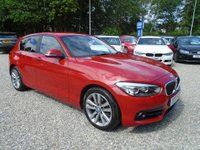 2017 BMW 1 SERIES 1.5 118i Sport Sports Hatch (s/s) 5dr £13995.00