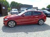 USED 2017 17 BMW 1 SERIES 1.5 118i Sport Sports Hatch (s/s) 5dr automatic sat nav dab