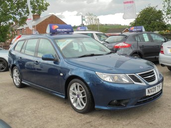 2009 SAAB 9-3 1.9 VECTOR SPORT ESTATE TID 5d 150 BHP 1 OWNER* FULL LEATHER* PARKING AID* EXCELLENT THROUGHOUT* £2950.00