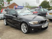 USED 2012 12 BMW 1 SERIES 2.0 118D M SPORT 2d 141 BHP 1 OWNER* £30 TAX* LOW MILES* PARKING AID* EXCELLENT*