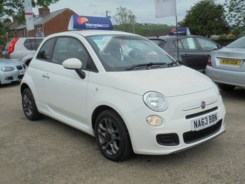2013 FIAT 500 1.2 S 3d 69 BHP * 1 OWNER* LOW MILES* HALF LEATHER* STUNNING THROUGHOUT* £4950.00