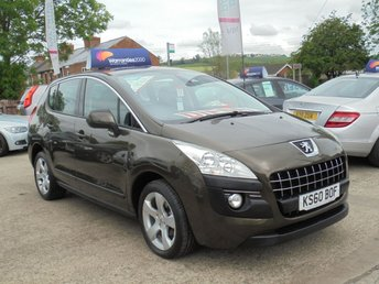 2011 PEUGEOT 3008 1.6 SPORT HDI 5d 112 BHP *1 OWNER* PARKING AID* EXCELLENT VALUE* £3950.00