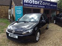 2011 VOLKSWAGEN GOLF 1.6 MATCH TDI BLUEMOTION TECHNOLOGY 5d 103 BHP £5450.00