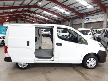 2015 NISSAN NV200 1.5 DCI ACENTA  90 BHP VAN - WITH AIR CONDITIONING £6250.00