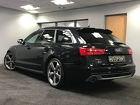 USED 2014 64 AUDI A6 2.0 AVANT TDI ULTRA BLACK EDITION 5d 188 BHP+++BLUETOOTH+++