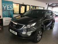 USED 2011 61 KIA SPORTAGE 1.7 CRDI 3 5d 114 BHP This Sportage 3 has been serviced by KIA @ 13151/20759/27552/34192/42667/51157 miles and then independently @59335 miles. It is finished in Black Phantom Metallic with Black heated leather seats front and rear! It is fitted with power steering, climate control, panoramic sunroof, Bluetooth phone, xenon lights, led day lights, rear park assist, auto lights, power folding mirrors, full size spare wheel, start stop technology, remote locking, electric windows, alloy wheels,single socket tow bar.