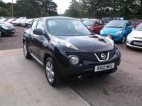 USED 2012 12 NISSAN JUKE 1.6 ACENTA 5d 117 BHP Beautiful Nissan Juke, FSH, Low Miles, Long MOT and only 1 Previous Keeper!