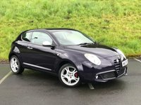 USED 2013 13 ALFA ROMEO MITO 1.4 TB MULTIAIR DISTINCTIVE 3d 135 BHP GOOD SERVICE HISTORY