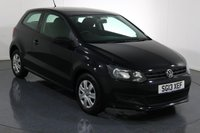 USED 2013 13 VOLKSWAGEN POLO 1.2 S 3d 60 BHP 2 LADY OWNERS From New