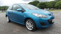 USED 2012 12 MAZDA 2 1.3 TAMURA 3d 83 BHP MAZDA SERVICE PRINT OUT, 2 X KEYS, AIR-CONDITIONING, ALLOY WHEELS, CD-PLAYER, REMOTE LOCKING, ELECTRIC FOLDING MIRRORS, ISOFIX, AUX POINT, METALLIC PAINT, ELECTRIC WINDOWS