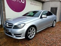 USED 2012 02 MERCEDES-BENZ C CLASS 2.1 C220 CDI BLUEEFFICIENCY AMG SPORT ED125 2d AUTO 170 BHP FULL SERVICE HISTORY
