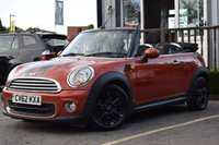 2012 MINI CONVERTIBLE 1.6 ONE 2d 98 BHP £6495.00