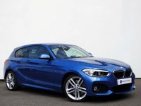 USED 2015 65 BMW 1 SERIES 2.0 125I M SPORT 3d 215 BHP HARMAN KARDON SPEAKER SYSTEM with SATELLITE NAVIGATION & LED HEADLIGHTS......